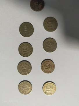 koin 10 rupiah jadul