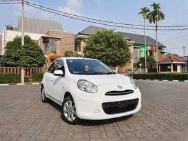 Nissan March 2013 MT Tdp17,5Jt Putih Istimewa Tangan Pertama