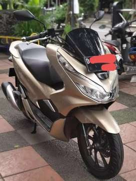Pcx warna gold 2018 like new
