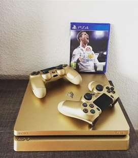 Sony PlayStation ps4 silm golden edition
