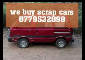 We buy non working accident scrap cars
