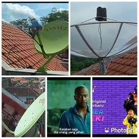Ahlinya pasang parabola servis CCTV area tanjung pinang timur