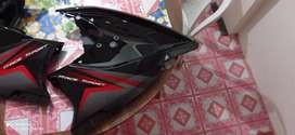 Side pairing (black colour)