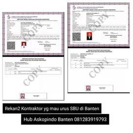 Layanan Pengurusan SBU, SKA, SKTK, ISO