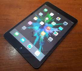 ipad mini 1 16gb wifi only, original, kelengkapan unit & cas, normal