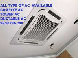 DAIKIN,VOLTAS,BLUESTAR,CARRIER,TOSHIBA,CASSETTE AC AVAILABLE FOR SALE,