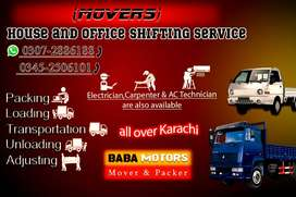 BABA Movers (Packer & Mover Service)