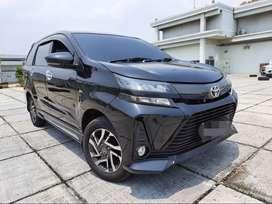 Toyota Avanza Veloz 1.5 At 2019 Hitam Masih Waranti kondisi Istimewa