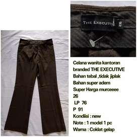 Celana bahan wanita brand THE EXECUTIVE