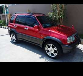 Suzuki escudo 2003 cbu manual