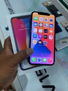 Iphone X 64gb fullset mulus - KING CELLULAR