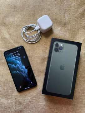 Iphone 11 promax 64 GB ORI, like new, Bonus casing, female user.