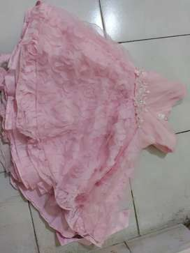 Sparingly used Pink frock