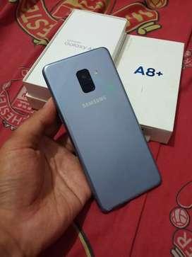 Samsung a8+ plus ram 6gb 64gb tt oppo a9 vivo samsung s8 iphone 7