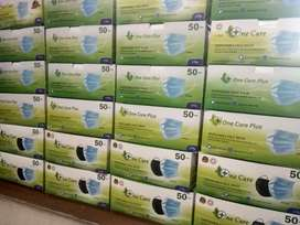 Masker one care 3 ply