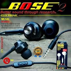 Headset bose power bass.
