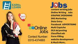 Dont worry if u are jobless,Jobs available for work at home and Online