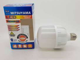 Lampu LED 20 watt PREMIER III Model CAPSUL Merk MITSUYAMA GARANSI 1TH