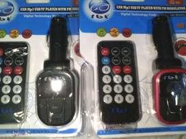 Car FM Music Modulator RBT Support Slot USB n Micro SD