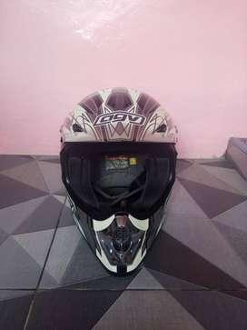 Helm AGV cross original vintage (helm simpenan)