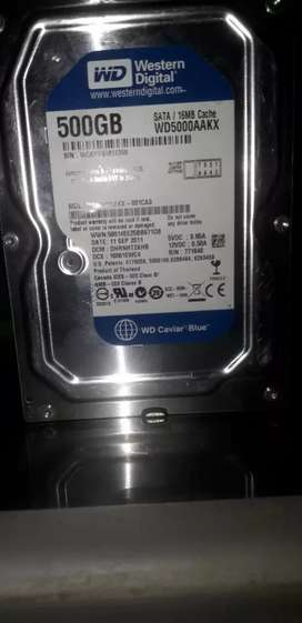 Hardisk Pc Wd blue 500gb