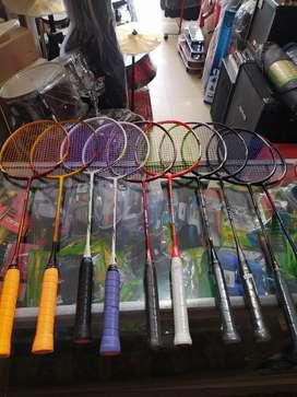 Raket badminton siap pakai original