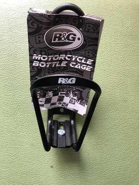 R&G Adjustable Motorcycle Bottle Cage Holder