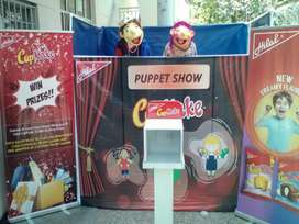 Puppet Show, Magic show, Jumping castle, balloons Decoration, birthday
