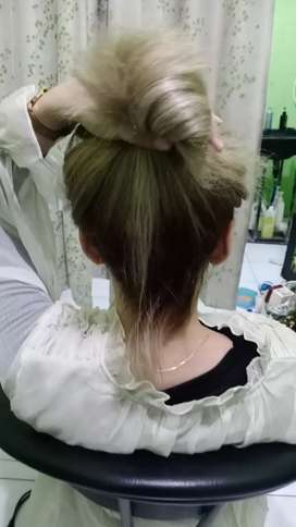 Hair colouring ayu salon