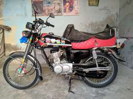 HONDA 125 Modified, best condition