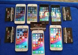 IPHONE 5S IPHONE 6 16GB with bill box charging cable call now for best