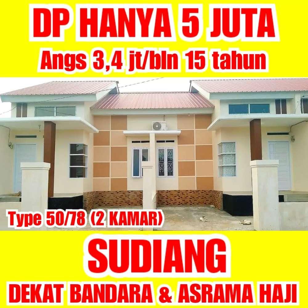 rumah murah di makassar, sudiang dekat bandara & asrama haji