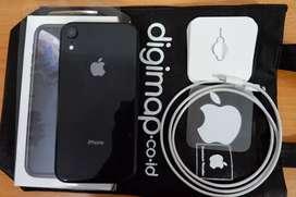 IPHONE XR 128GB Black Gar On Des 2021 Ibox fullset original