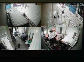 Paket CCTV 2Mp ekonomis Ready stock siap pasang
