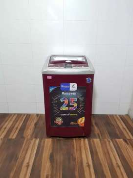 Top load maroon latest 6.5 kg washing machine with accessories