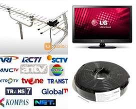 Menerima Pasang Sinyal Antena Tv Dan Pararel Antena