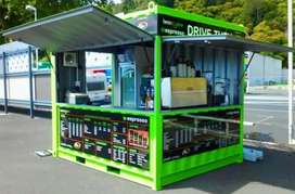 Booth Semi Container Murah