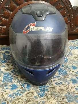 Replay company flip up helmet