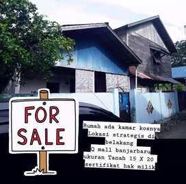 dijual tanah bonus Rumah Kos kosan