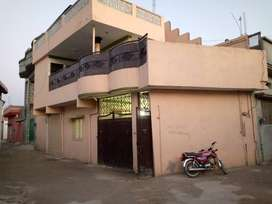 House for sale in commercial area with shop