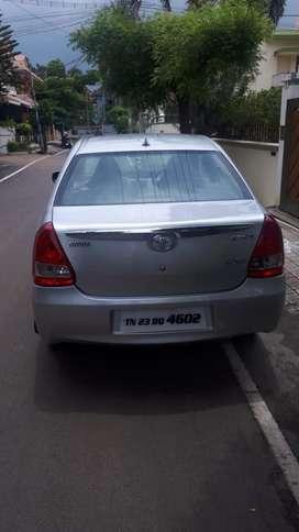 Toyota Etios VXD, 2013, Diesel