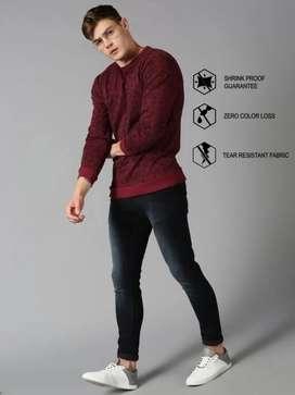 *UrGear Full Sleeve Printed Men Sweatshirt*