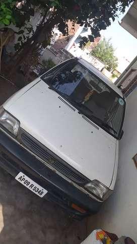 Maruti Suzuki 800 2000 LPG Good Condition