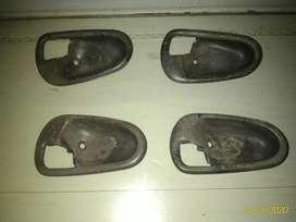 Footrest dan mangkok handle Lancer evo3 thn 95