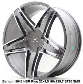 BARNUM 5043 HSR R22X95 H6X139,7 ET20 SMGMF