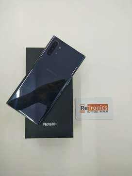 Samsung Galaxy Note 10 Plus Aura Black Excellent Condition With Box