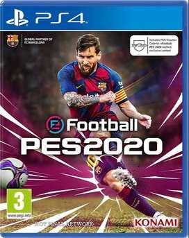 game ps 4 PES 2020 terbaru