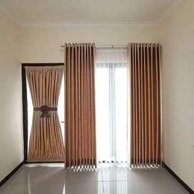 Korden Tirai Hordeng Gorden Curtain Blinds Gordyn Wallpaper Z.176rbr8