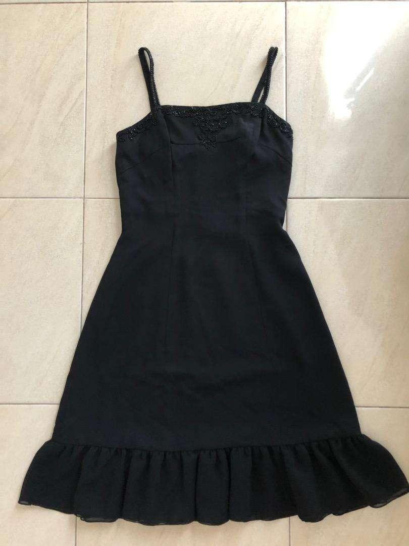 Preloved Mini Dress Black 0