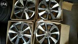 VERNA, SCORPIO,HONDA CITY,CIAZ ,SWIFT, ALL KIND OF ALLOY WHEELS
